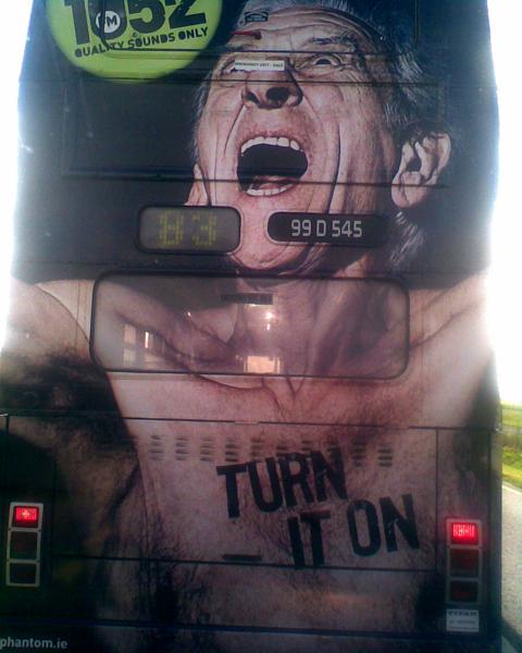 tyl autobusu / back of bus